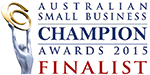 Australian Small Business Champion 2015 Finalist