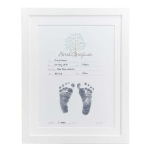 Baby Made Inkless Print Birth Certificate