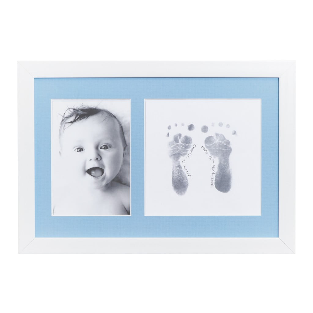 Inkless Baby Print Photo Frame Kit | Baby\'s Hand and Foot Print ...
