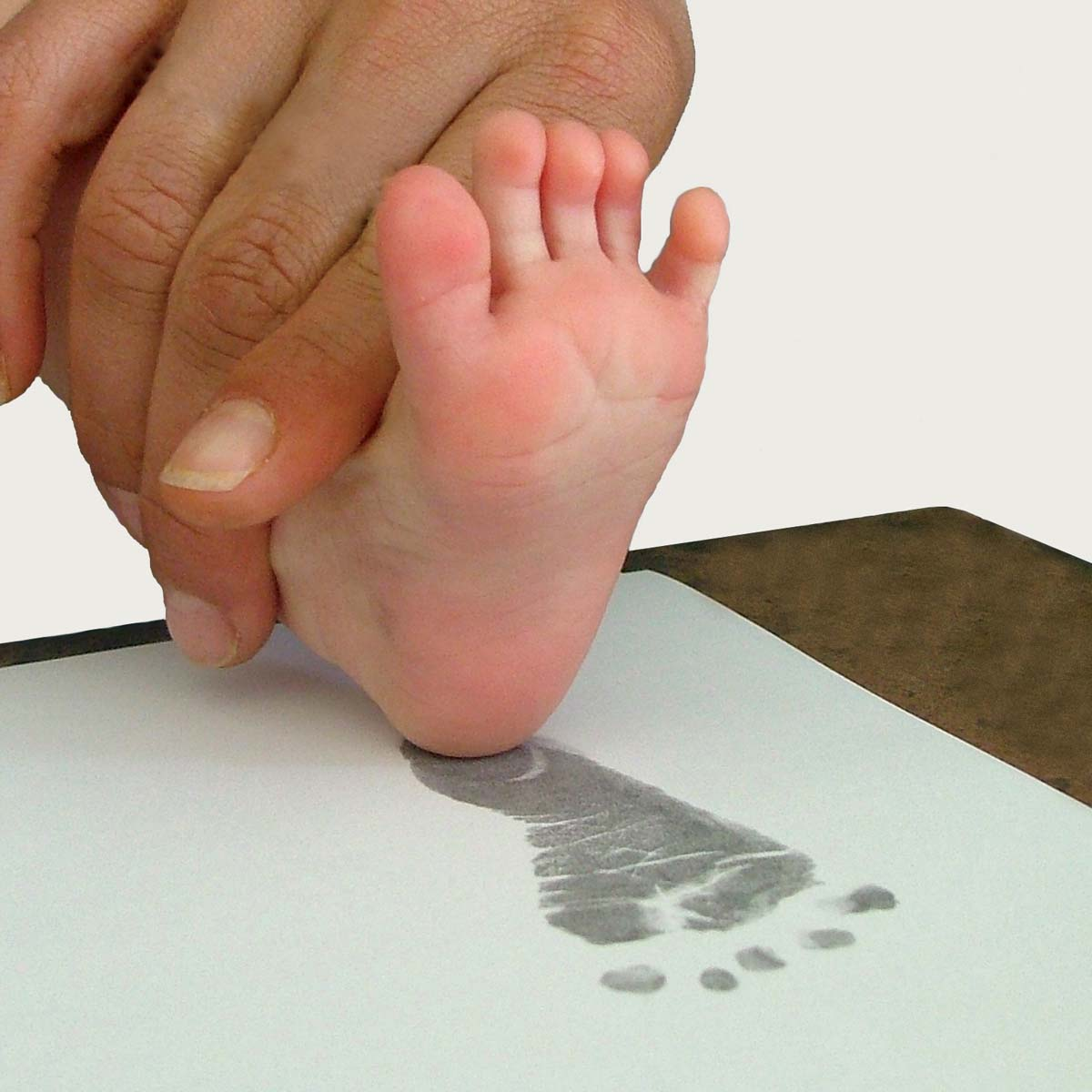 Inkless Baby S Foot Or Hand Print Kit Non Toxic Inkless
