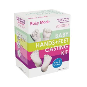 casting baby hands and feet