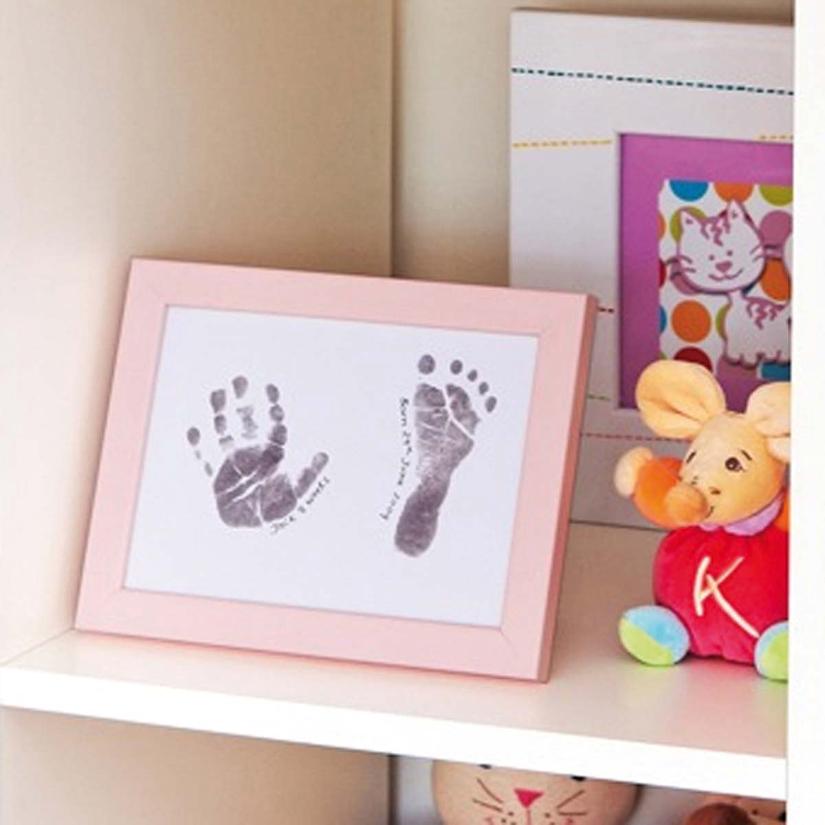Inkless Baby Print Frame Kit Inkless Babys Hand And Footprints