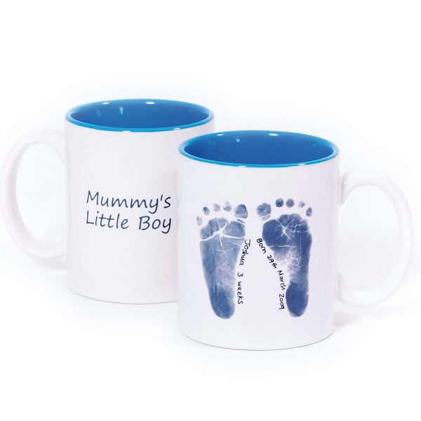 Baby Made Ceramic Mug - Blue