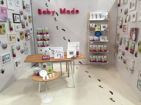 Baby Made Stand at Syd Reed Gift Fair Feb16