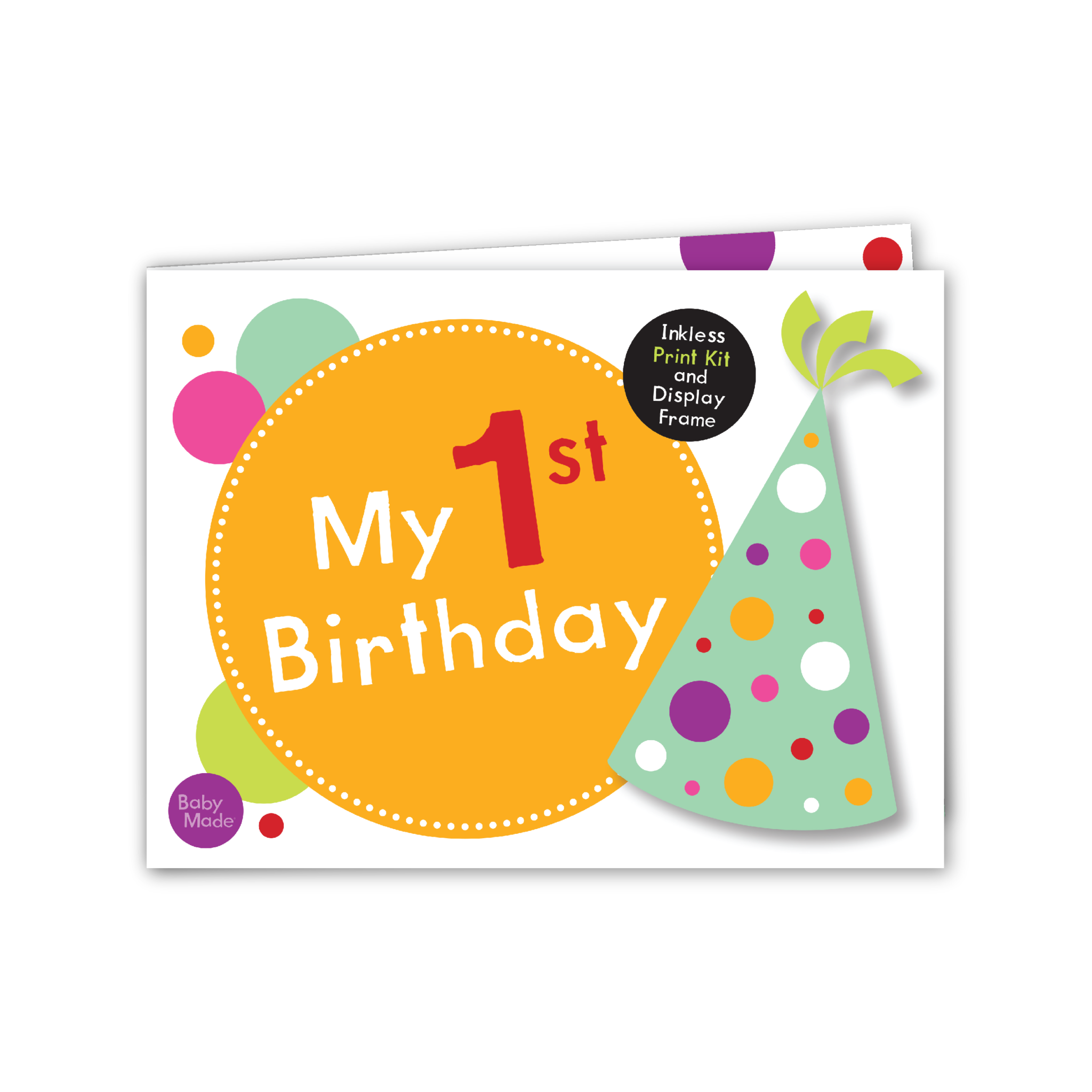 Keepsake 1st Birthday Gifts: 1 Inkless Wipe, 2 Specially